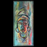 'Mama Africa' - Expressionist Portrait Painting