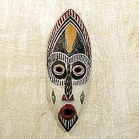 Nigerian wood mask,