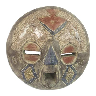 Congolese wood mask