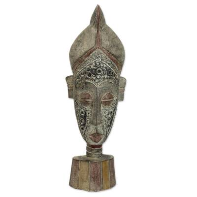 Africa wood mask