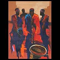 'Jazz' (2010) - African Music Painting