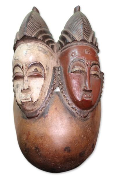 Baule wood mask