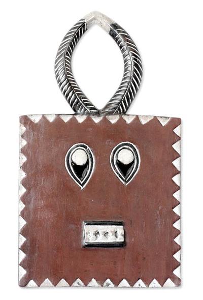 Handmade Ivory Coast Wood Mask