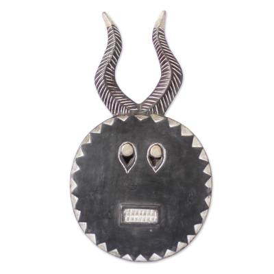 Handcrafted Wood Mask
