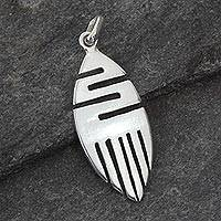 Featured review for Sterling silver pendant, Resilience