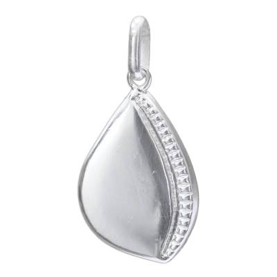 Sterling Silver Pendant (Large)