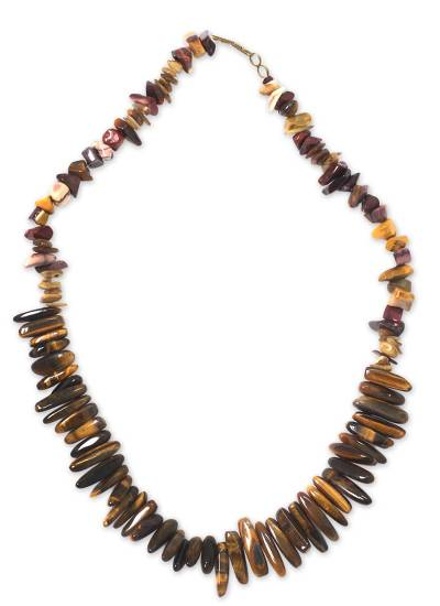 Beaded Agate and Tiger