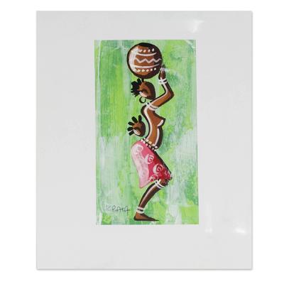 Original African Acrylic Painting