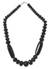Onyx beaded necklace, 'African Elegance' - Artisan Crafted Beaded Onyx Necklace (image 2a) thumbail