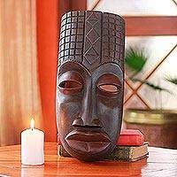 African mask, 'Congo Purification' - Artisan Carved Congolese Ritual African Mask