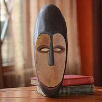 Gabonese wood mask, 'Fang Protector' - Gabonese wood mask