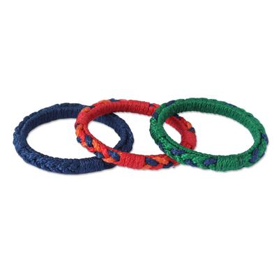 Unique Bangle Bracelets (Set of 3)