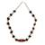 Agate beaded necklace, 'Remember Me' - Agate beaded necklace (image 2a) thumbail