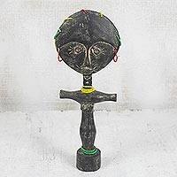 Wood fertility doll, 'Ashanti Donkor' - Wood fertility doll