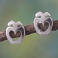 Sterling silver earrings,