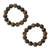 Tiger's eye beaded stretch bracelets, 'Esombo' (pair) - Tiger's eye beaded stretch bracelets (pair) (image 2a) thumbail