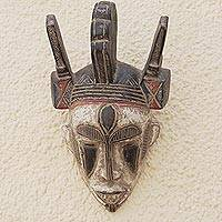 African mask, 'Visions' - Authentic African Wood Mask