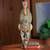 African mask, 'Flying Bird' - Ghanaian Handcrafted African Mask Bird Design (image 2) thumbail