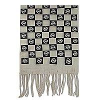 Cotton shawl, 'I Fear God' - Handwoven Cotton Shawl with African Adinkra Symbols