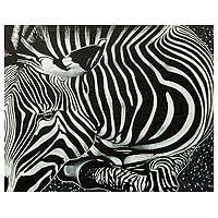 'Zebra Beauty I' (2014) (Ghana)