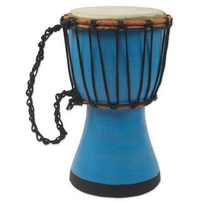 Artisan Crafted West African Decorative Djembe Drum