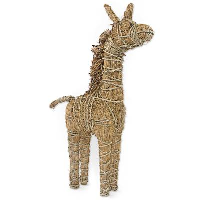 Rattan Decorative Giraffe Hand Crafted in Ghana