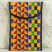 Kente iPad case, 'Royal Pattern' - iPad Case with Lively and Colorful Kente Cloth Patterns