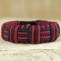 Cord bracelet,