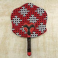 Cotton wood fan,