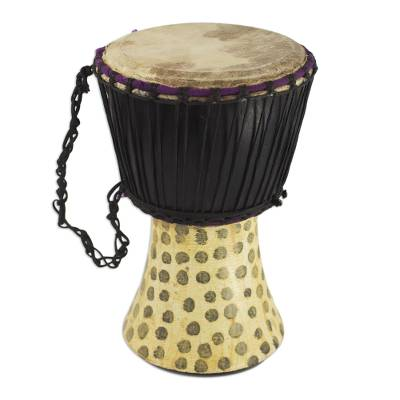 Genuine Traditional Djembe Drum Hand Crafted in Ghana