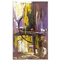 'Little Things' - Signed Original Abstract Painting from Ghana