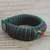 Men's wristband bracelet, 'Adventurer' - Men's Multi-Color Braided Cord Wristband Bracelet (image 2b) thumbail