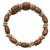 Wood beaded wrap bracelet, 'With the Grain' - Wood Bead and Disc Wrap Bracelet (image 2a) thumbail