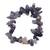 Amethyst beaded stretch bracelet, 'Twilit Hues' - Amethyst Beaded Strand Stretch Bracelet (image 2a) thumbail