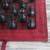 Leather travel chess set, 'Strategic Mind' - Leather Travel Chess Set in Red and Brown from Ghana (image 2c) thumbail
