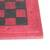 Leather travel chess set, 'Strategic Mind' - Leather Travel Chess Set in Red and Brown from Ghana (image 2e) thumbail