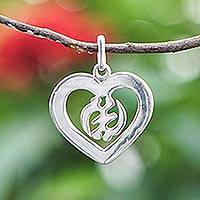 Sterling silver pendant,