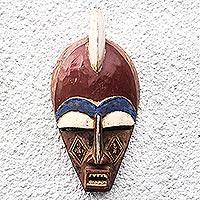 Dan wood mask,