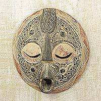Wood mask, 'Asepa Ye' - Wood mask