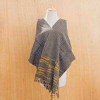 Cotton kente cloth scarf,