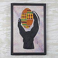Hand and Egg Ghana