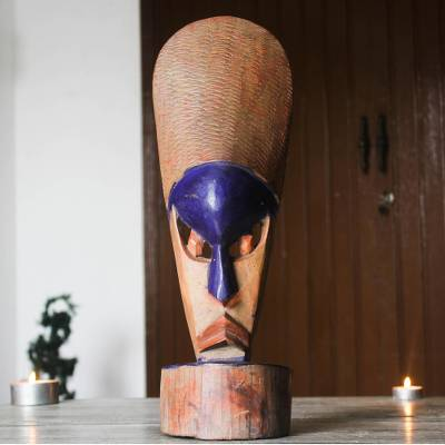 Dan wood mask, 'Standing Beauty' - Dan wood mask