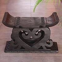 Ashanti throne stool,