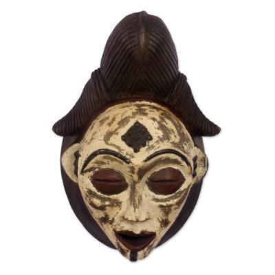 Artisan Crafted Wood Mask