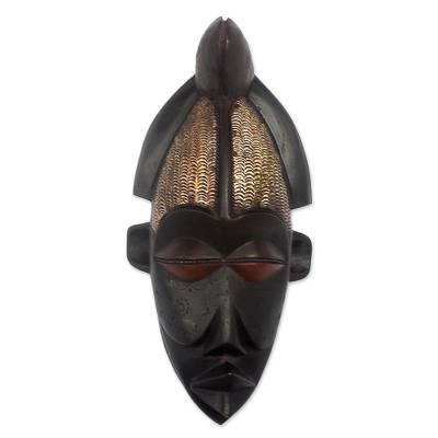 Angolan wood mask