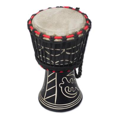 Wood Mini Djembe Drum