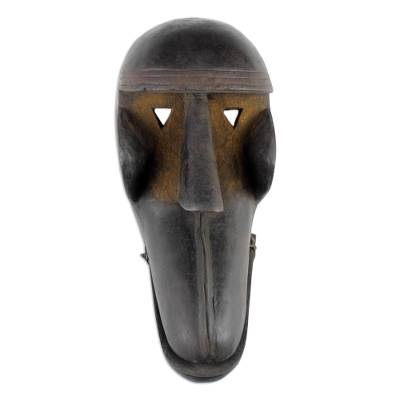 Burkina Faso African wood mask