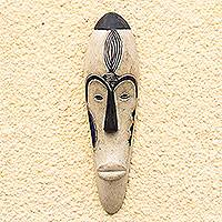 African Gabonese wood mask, 'Fang Hunter' - African Gabonese wood mask