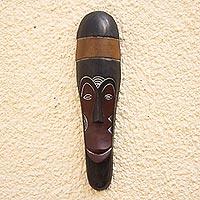 Gabonese Africa wood mask Harvest Ritual Ghana