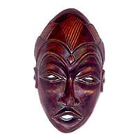 Dan wood mask,